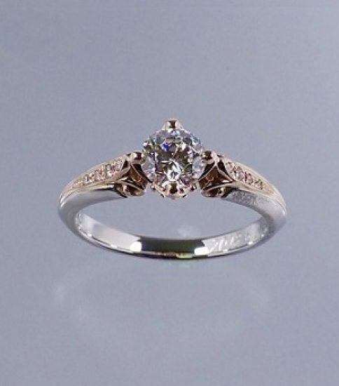 お母様の婚約指輪が「ポン・ヌフ」に甦りました