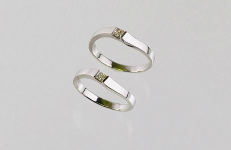お父様の指輪をお二人のマリッジリングにジュエリーリフォーム