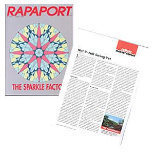 RAPAPORTに掲載